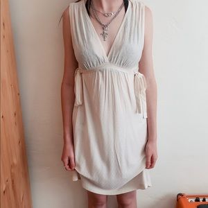 French Connection Ivory Cream Dress
